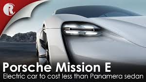 porsche mission e charging a closer look at the stunning all electric porsche mission e youtube
