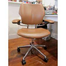 Desk Chair Humanscale Leather Desk Chair Aptdeco