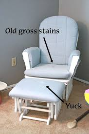 how to cover a chair slipcover for glider rocking chair how to cover a chair cushion