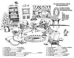 30 best spanish prepositions of place images on pinterest