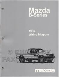 mazda b2500 1998 mazda b4000 b3000 b2500 pickup truck wiring diagram manual