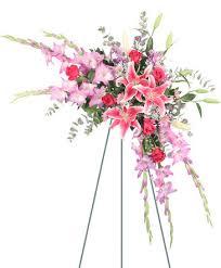 balloon delivery el paso tx memories in pink standing spray in el paso tx como la flor