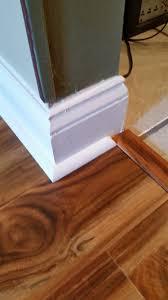Trim Laminate Flooring Laminate Quarter Round And Base Trim Restoration