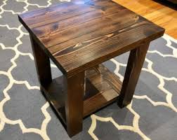Farmhouse Side Table Farmhouse Side Table Etsy