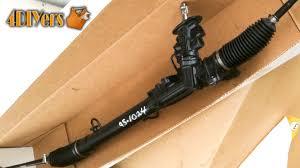 diy volkswagen mkiv power steering rack replacement youtube