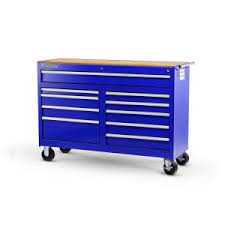 10 Drawer Cabinet Husky 56 In 10 Drawer Cabinet Tool Chest Blue Vrb 5610buhu The