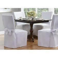 Slipcovered Dining Chair Linen Slipcovered Dining Chair Wayfair