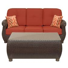 Brown And Jordan Vintage Patio Furniture - outdoor sofas outdoor lounge furniture the home depot
