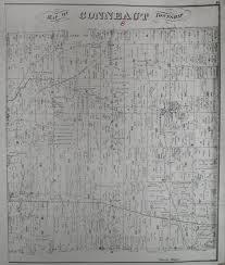 Washington Township Map In Eau by William L Latta Miner Descent