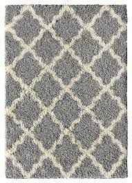 Modern Shaggy Rugs Buy Modern Shaggy Area Rugs Soft Chenille Grey Brown Carpet Living