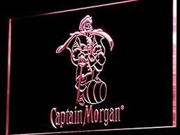 captain morgan neon bar light amazon com captain morgan spiced rum bar led neon light sign man
