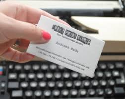 Daniel Ocean Business Card Custom Letterpress Business Cards With Coloured Edges 1