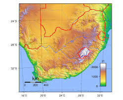 Physical Map Of Africa by Maps Of South Africa Detailed Map Of Republic Of South Africa In