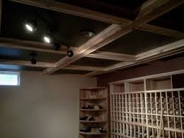 Box Beam Custom Wine Cellar Box Beam Ceiling By P T Walz U0026 Co Fine