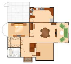 Oval Office Layout Bathroom Vector Stencils Library Function Hall Floor Plan