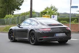 porsche 911 gallery porsche 911 facelift spied on the nurburgring and in prague