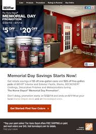 home depot 5 gallon interior paint behr memorial day savings on behr paints stains at the home