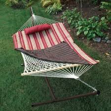 hammocks with stands you u0027ll love wayfair