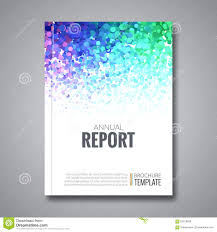 business report template business report design background with colorful stock vector background business colorful design report template