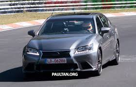 lexus gs f malaysia lexus gs f sighted on the u0027ring without any camo