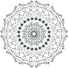 free mandala coloring page that i made a desire to get creative