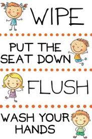 Free Printable Bathroom Art Free Printable Bathroom Art For Kids And Organizing Tips Too