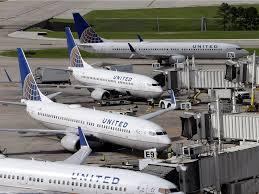 united airlines fa emergency slide business insider