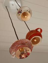 Tea Cup Chandelier 20 Creative Things To Diy For Your Home Using Teacups Home