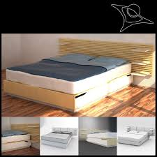 Queen Size Bed Ikea Ikea Mandal King Size Bed And Headboard In Islington London For