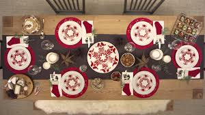 christmas table settings just like that youtube