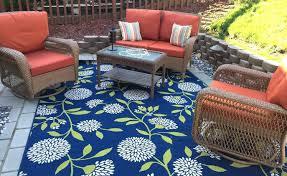 Best Outdoor Rug For Deck New Patio Mats 9 12 And Reversible Patio Mat Outdoor Indoor