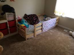 Mydal Bunk Bed Frame Toddler Bunk Bed At Home And Interior Design Ideas