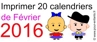 calendriers à imprimer calendrier 2016 à imprimer janvier 2016