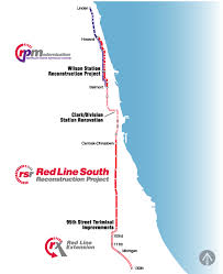 cta line map everything you need to about cta s line rebuild