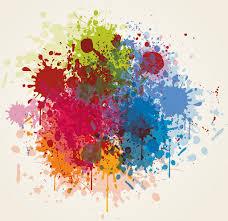 grunge vector splash color illustrator free vector download