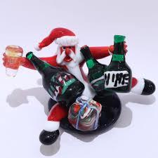 drunk santa claus christmas in murano glass muranonet online store