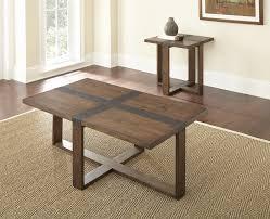 loon peak pine mountain 2 piece coffee table set reviews wayfair