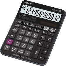 le de bureau à pile calculatrice de bureau casio dj 120dplus noir solaire à pile s sur