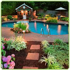 Landscaping Around A Pool by Backyard Style U2013 Décor All Your Own Intheswim Pool Blog