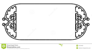scroll frame clipart clipartxtras
