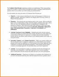 resume for graduate school resume for grad school app exle graduate application objective