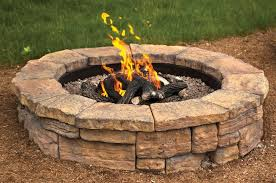 Fire Pit Rosetta Round Outdoor Fire Pit Kit