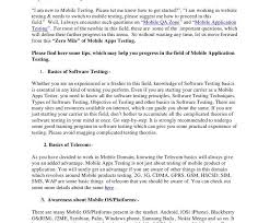 Sample Software Tester Resume by Software Testing Resume Cv01 Billybullock Us