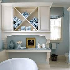 Above Vanity Lighting Tall Corner Bathroom Cabinet Brown Marble Table Sink Counter Top