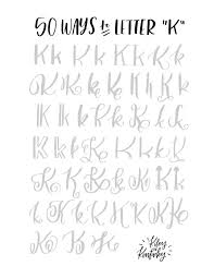 best 25 letter k font ideas on pinterest handwriting fonts