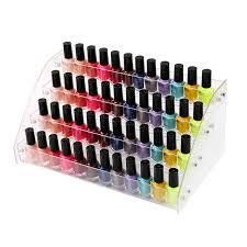 aliexpress com buy 4 tier transparent nail polish display rack