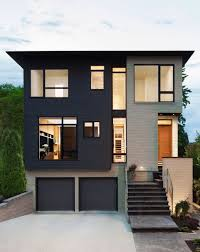 Home Design Story Ideas by Inspiring Modern House Design With Two Story And Modular Concept