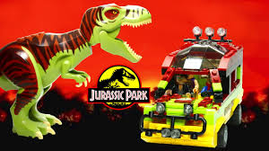 jurassic park car lego lego jurassic park jungle explorer with t rex cuusoo project by