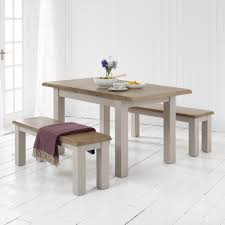 Dining Table And 2 Benches Grey Painted Small Dining Table 2 Benches