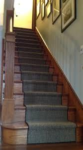 diy stair runner simply turquoise